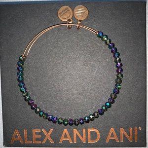 Alex and Ani Beaded Bangle